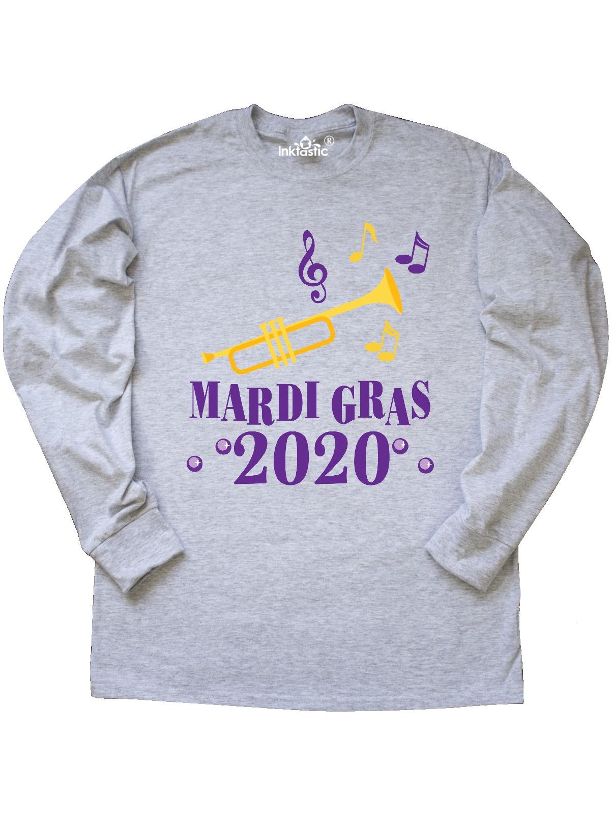 inktastic Mardi Gras 2019 Jazz Music Party Baby T-Shirt