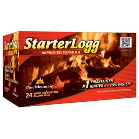 Walmart Credit Card Review >> Pine Mountain StarterLogg Fire Starters, 24pk - Walmart.com