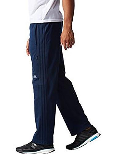 Adidas Men's Weekender Athletic Training Drawstring Waist Pants - Navy/Grey (Medium)