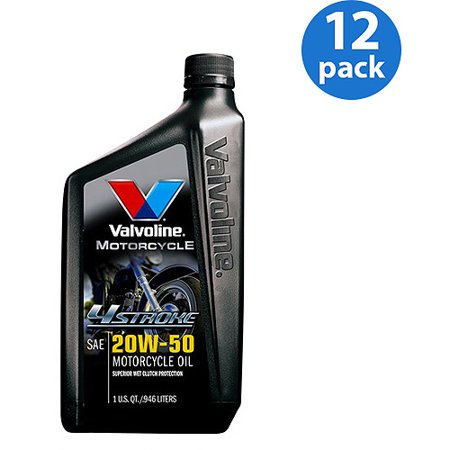 Valvoline 20w 50 4 stroke conventional motorcycle oil 1 for Motor oil out of clothes