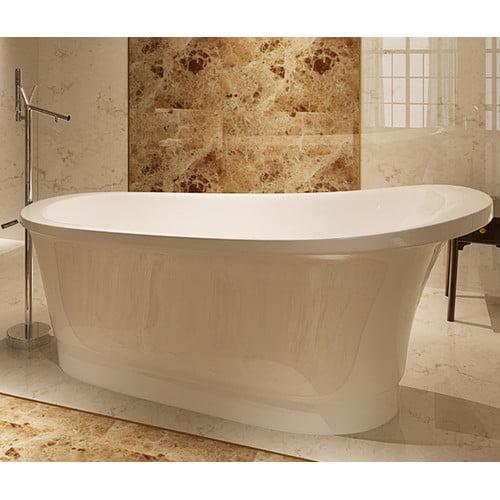 Kardiel HelixBath Olympia 67'' x 31.5'' Soaking Bathtub