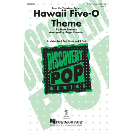Hal Leonard Hawaii Five-O Theme (Discovery Level 3) 3-Part Mixed arranged by Roger Emerson