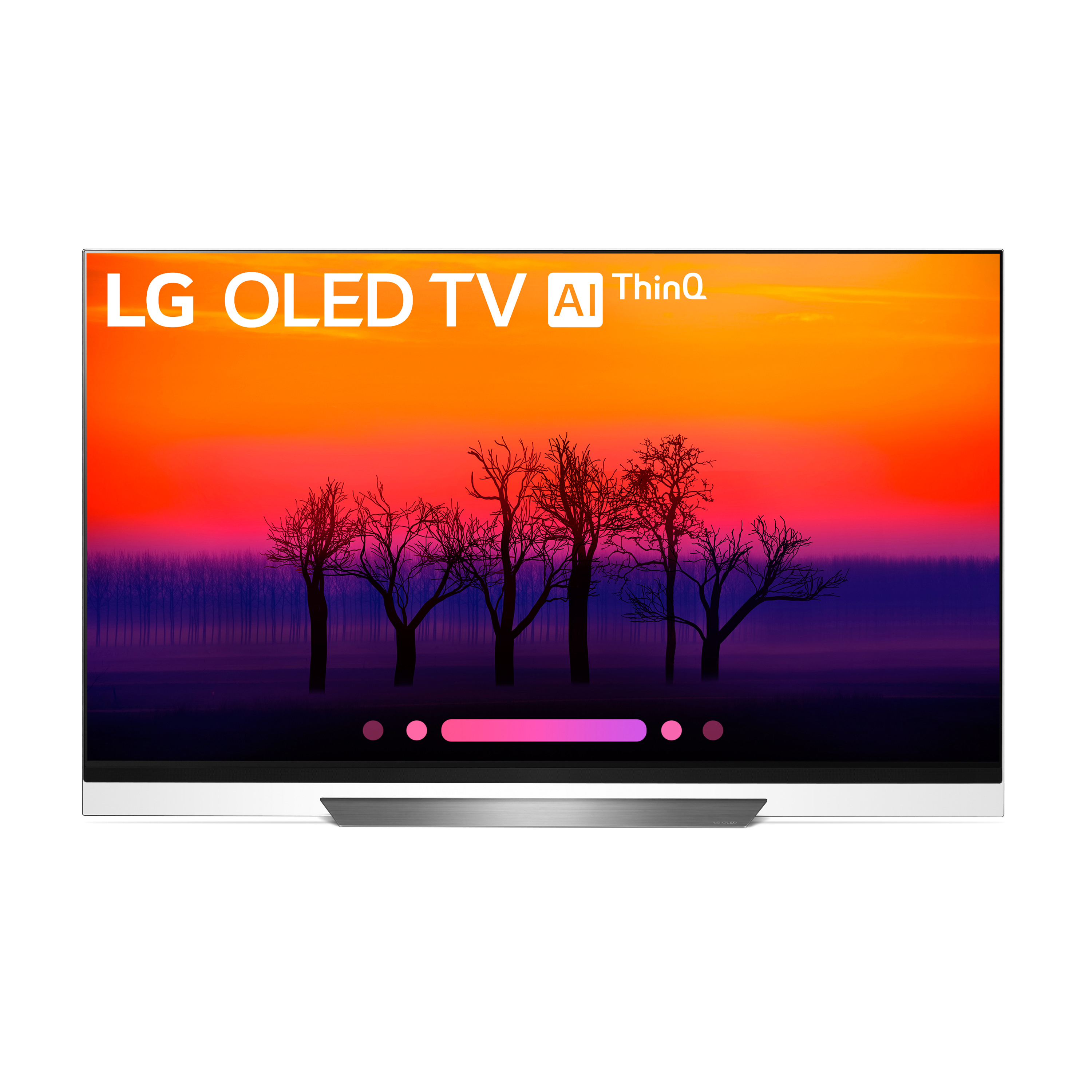 "LG 65"" OLED 4K HDR Smart OLED TV w/AI ThinQ - OLED65E8PUA"