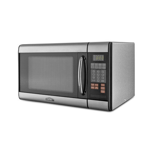 Summit Appliance 12.75'' x 20.5'' Microwave Oven in Stainless Steel