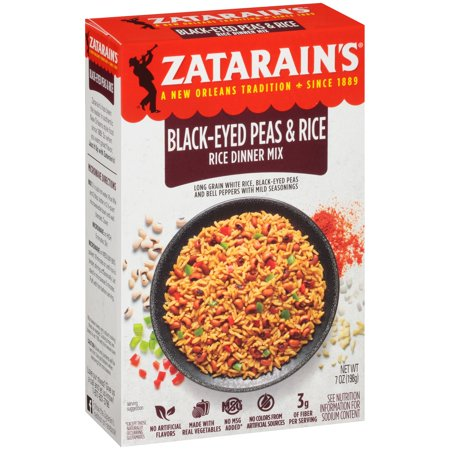 Zatarain's ® Black-Eyed Peas & Rice Mix 7 oz. Box