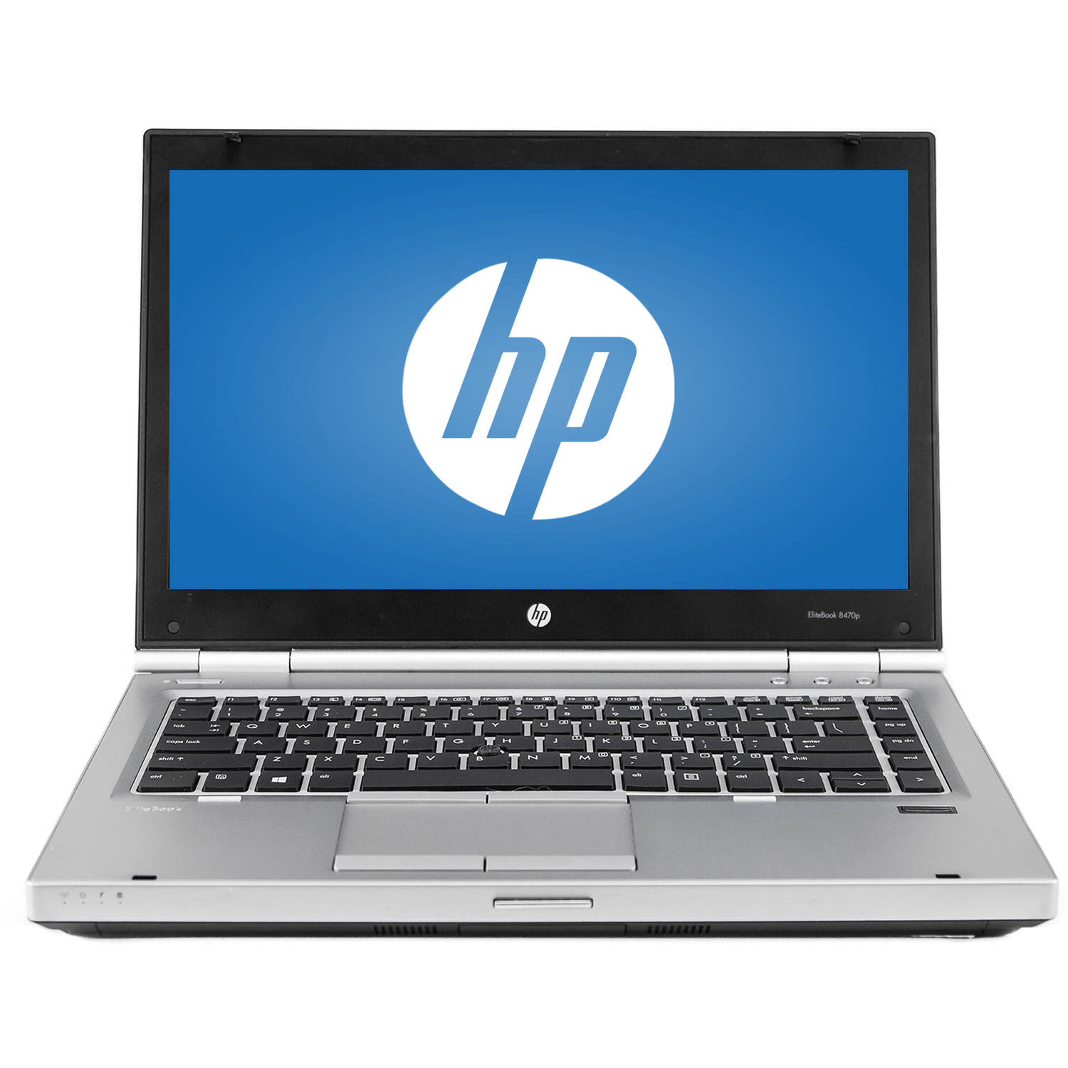 """Refurbished HP Silver 14"""" EliteBook 8470P WA5-1062 Laptop PC with Intel Core i5-3320M Processor, 8GB Memory, 128GB Solid State Drive and Windows 10 Home"""