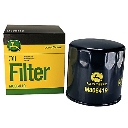 John Deere Original Equipment Oil Filter #M806419 (John Deere 345 Oil Filter Cross Reference)