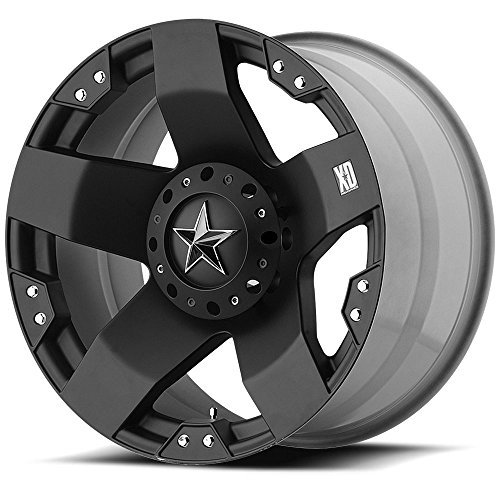 "XD-Series Rockstar XD775 Matte Black Wheel (20x10""/8x170mm)"