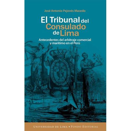 El Tribunal del Consulado de Lima - eBook