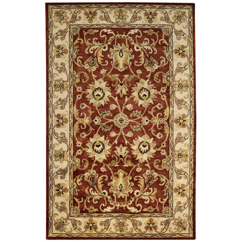 Capel Guilded 9205 Area Rug - Red