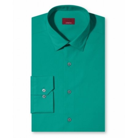 Alfani new green tropical teal mens size 16 1 2 suiting for Teal mens dress shirt
