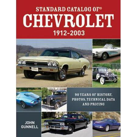 Chevrolet Accessories Catalog (Standard Catalog of Chevrolet, 1912-2003 -)