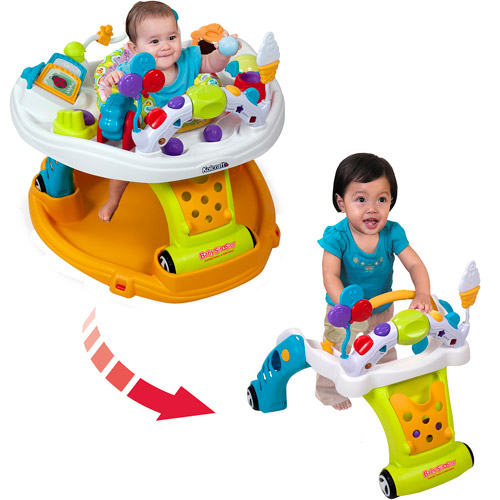 Kolcraft Baby Sit & Step 2-in-1 Activity