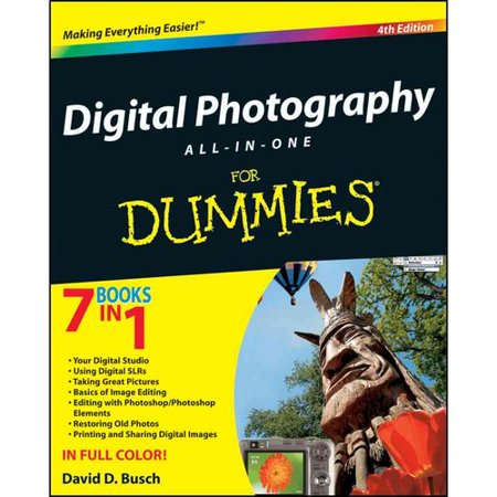 Digital Photography All-in-One For Dummies