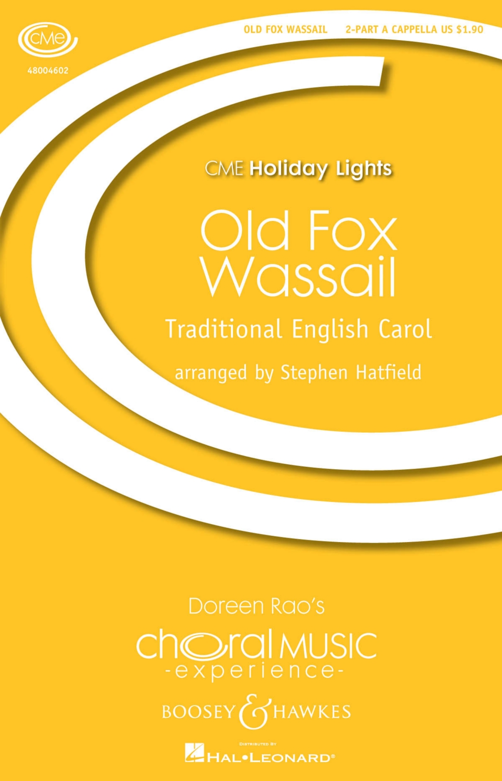 Boosey and Hawkes Old Fox Wassail (2-Part Any Comb.) 2-Part a cappella arranged by Stephen... by Boosey and Hawkes