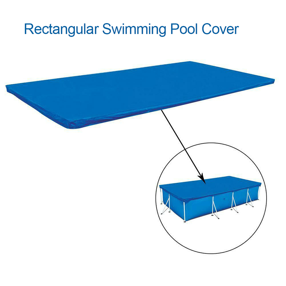 Rectangular Pool Cover Water Resistant PE Swimming Pool Cover A3S2
