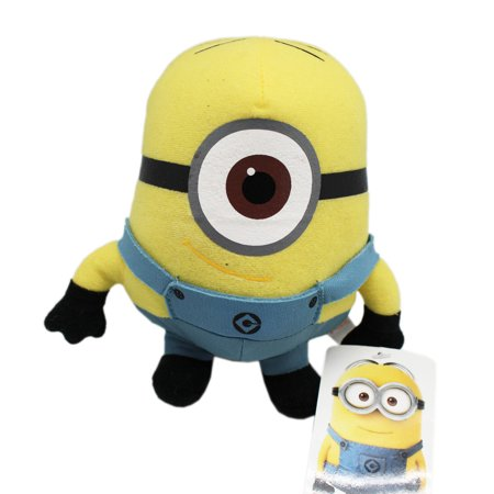 Despicable Me 2 Bob the Minion Small Size Kids Stuffed Toy (6in)