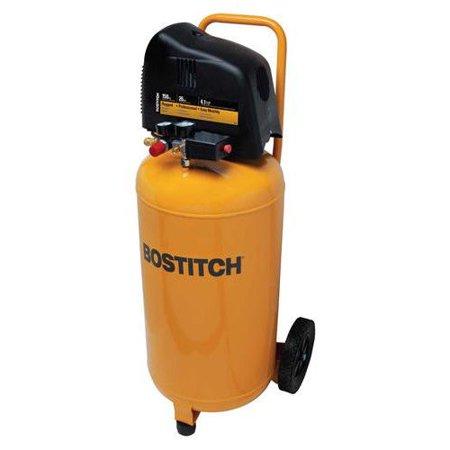 Bostitch BTFP02028 26 Gallon 150 PSI Oil-Free Vertical Air Compressor -  Stanley, 0007791405984