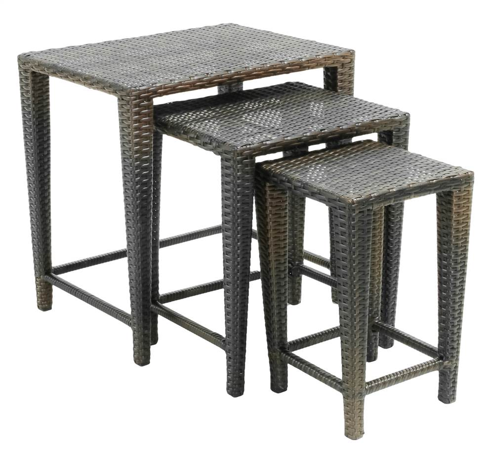 3-Pc Nesting Table Set