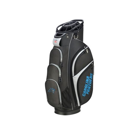 Wilson NFL Cart Golf Bag, Carolina (Carolina Panthers Golf Cart Bag)