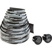 Cinelli Mash Histogram Volee Ribbon Handlebar Tape, Black/White