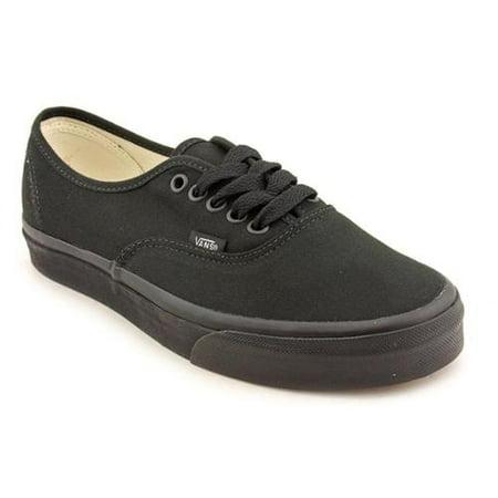Black Black Skate Shoe (Vans Authentic (Black/Black) Men's Skate Shoes-13)