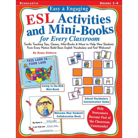 Easy & Engaging ESL Activities and Mini-Books for Every Classroom : Teaching Tips, Games, and Mini-Books for Building Basic English Vocabulary!
