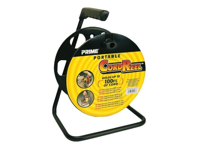 Extensions Cord Reel Wheels Portable Roll Up Heavy Duty Storage Stands 100FT New