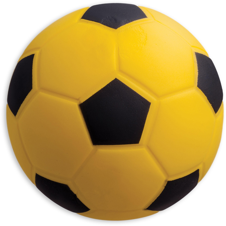 Champion Sport s Size 4 Foam Soccer Ball, Yellow, Black, 1 Each (Quantity)