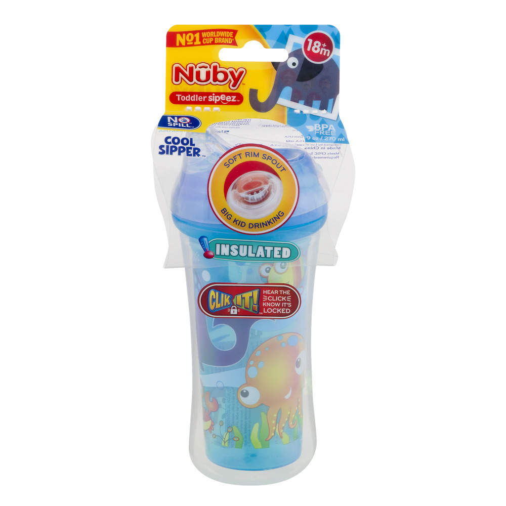 Nuby Toddler Sipeez Cup 18m+, 1.0 CT