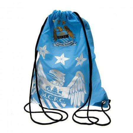 Manchester City FC - Foil Print Gear Bag (Manchester City Shoe Bag)