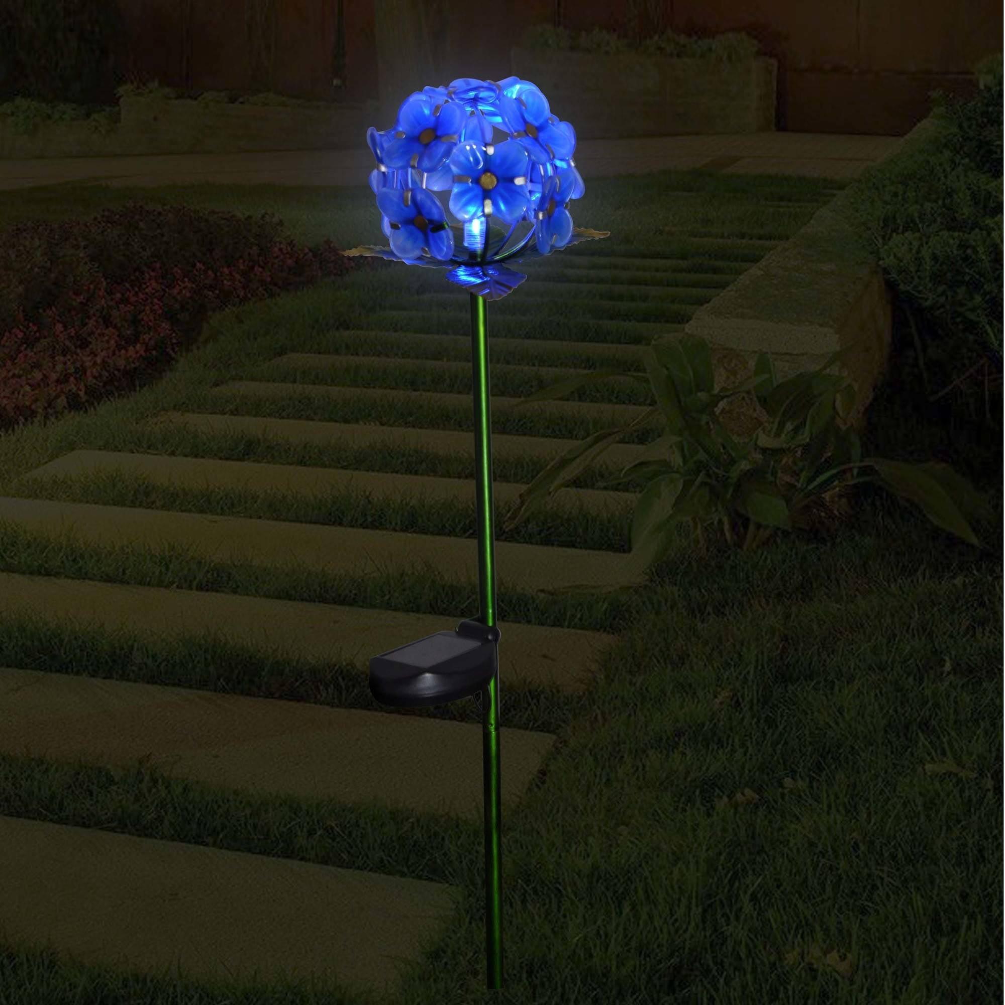 Better Homes & Gardens Hydrangea Stake, Blue