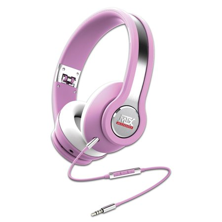MTX Audio IX1-Pink Street Audio On Ear Acoustic Monitors - Pink - Gibson Acoustic Custom Shop