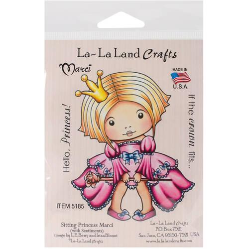 """La-La Land Cling Mount Rubber Stamp, 4"""" x 3"""""""