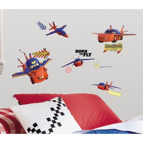 Cars - Air Mater Peel & Stick Wall Decals-RETIRED/LIMITED STOCK