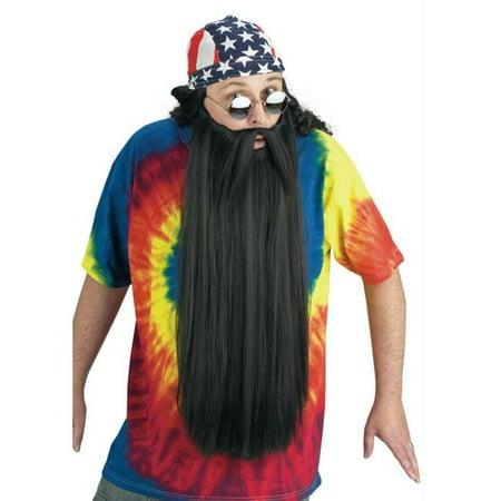 Costumes pour toutes les occasions Fw90026Bk Barbe W moustache noire - image 2 de 2