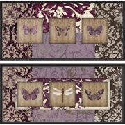 Cape Craftsmen Wings on Paisley Indoor by Studio 5 2 Piece Framed Graphic Art on Canvas Set