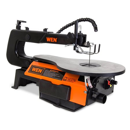WEN 3920 16-Inch Two-Direction Variable Speed Scroll Saw with Flexible LED