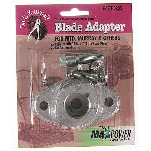 Maxpower 330205 Blade Adapter Kit MTD Pack