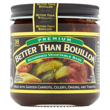 (2 Pack) Better Than Bouillon Premium Seasoned Vegetable Base, 8 oz