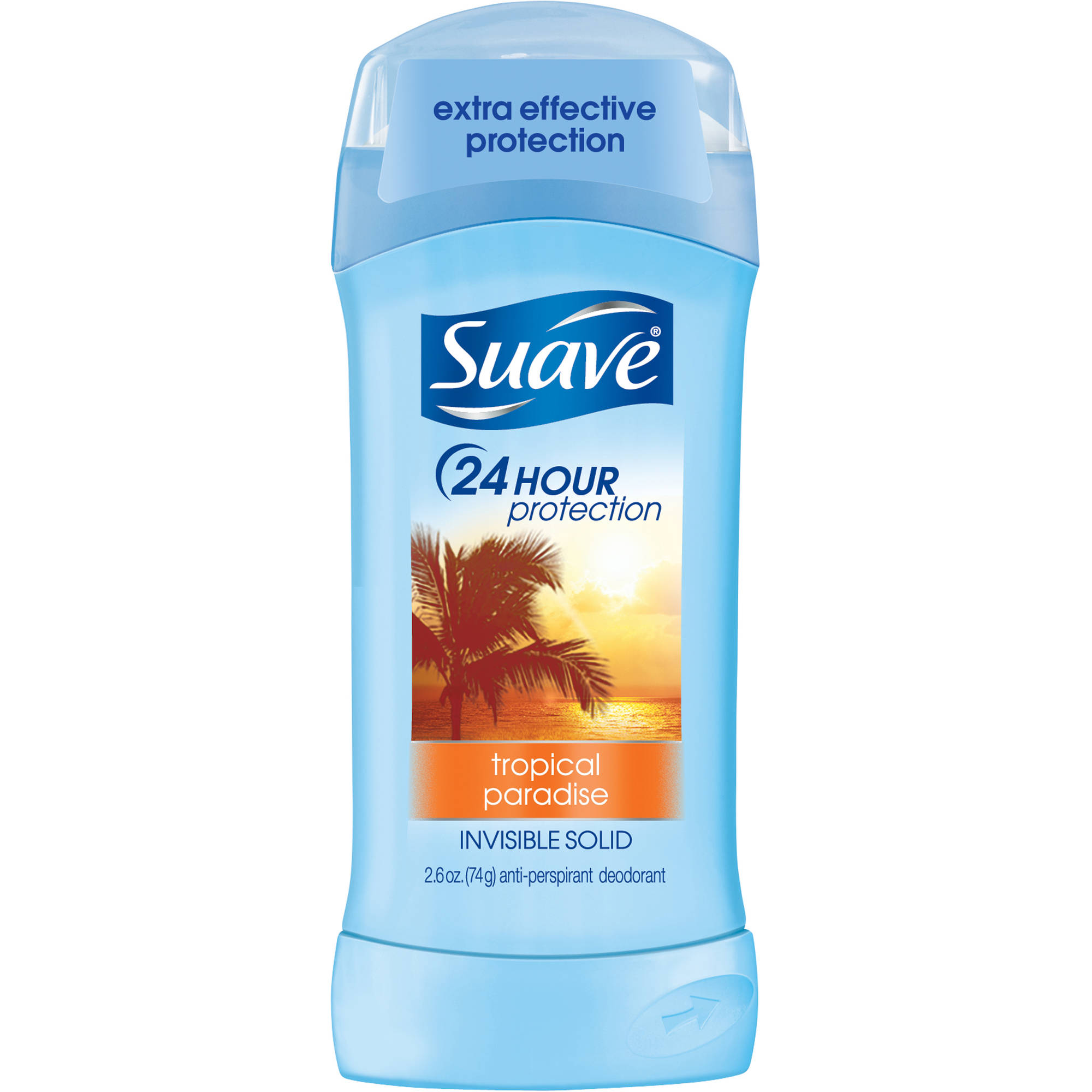 Suave Tropical Paradise Antiperspirant Deodorant, 2.6 oz
