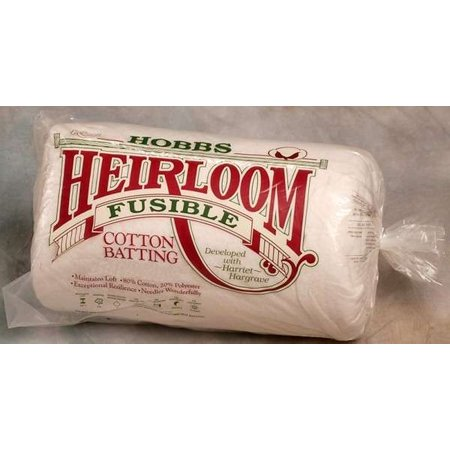 Hobbs Heirloom 80/20 Fusible Cotton Batting Crib 45