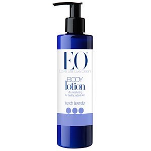 EO Products, Body Lotion, French Lavender, 8 fl oz (236 ml) (Pack of 2)