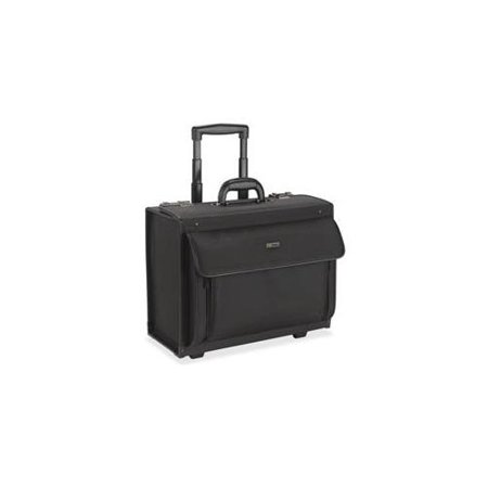 United States Luggage PV784 Classic 16;; Rolling Catalog Case, 18-3/4 x 10-1/2 x 14-3/4, Black
