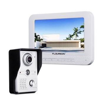 Floureon Video Door Phone System w/ 7