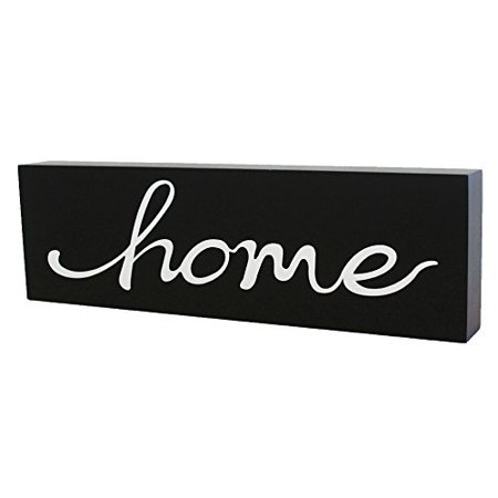 Decorating Wall Art - JennyGems Wooden Stand Up Sign Scripted Word Art - Home - Statement Piece - Word Art Home Decor - Interior Design and Decorating - Wall Art