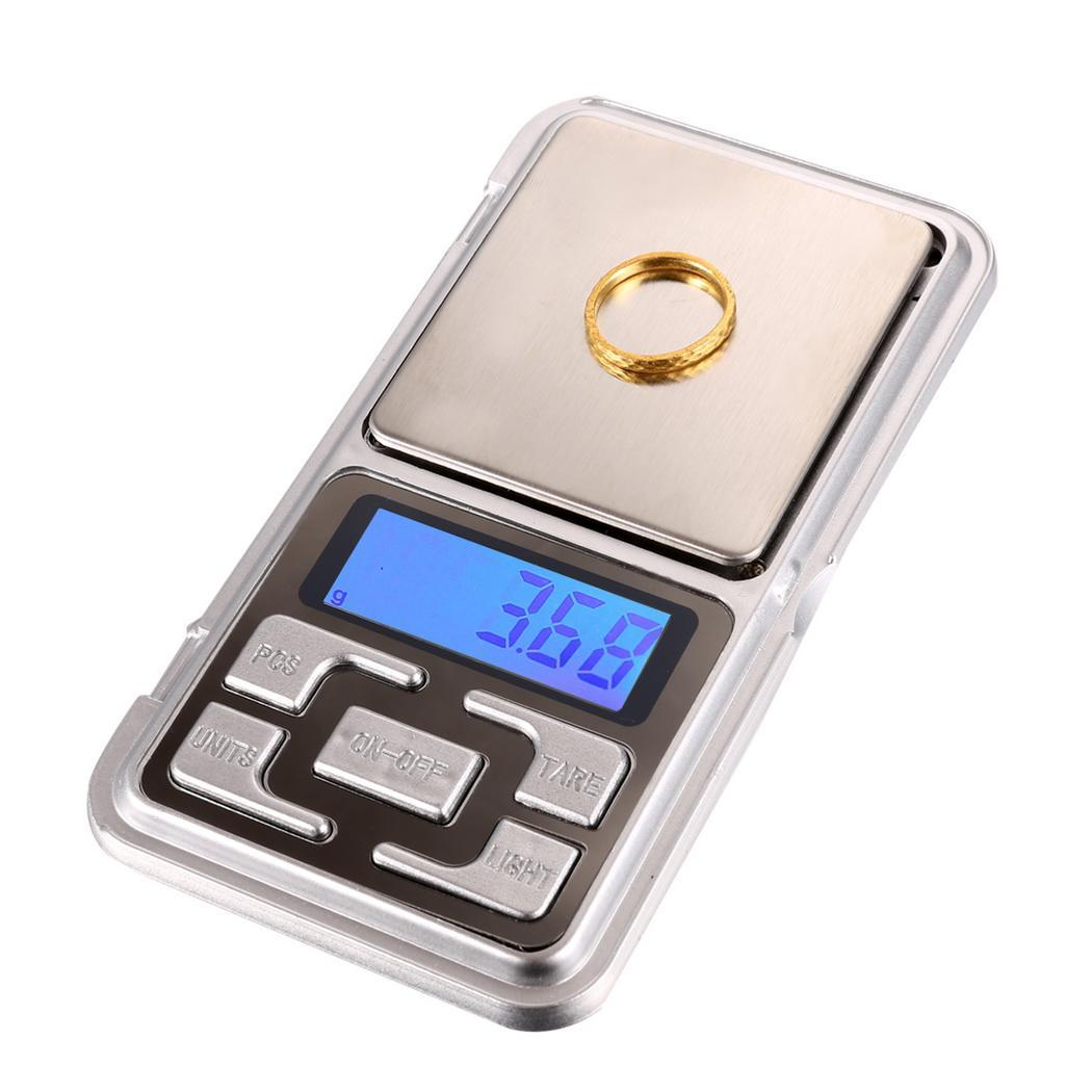 Electronic Digital Pocket Jewelry Scale Weight Balance HITC