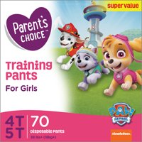 Parent's Choice Girls Training Pants (Choose Size & Count)