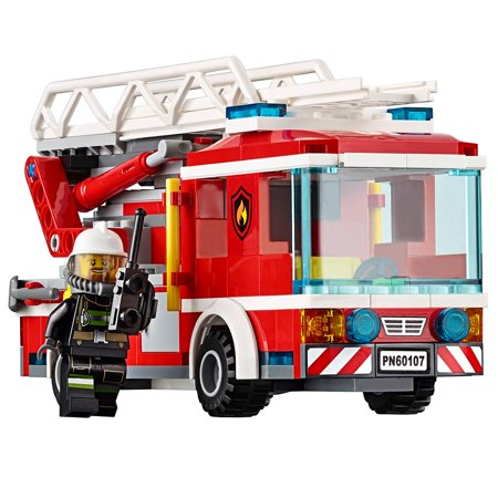 Lego City Fire Ladder Truck 60107 Cool Toy For Kids Walmart Canada