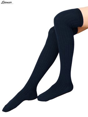 f89e65e6271 Free shipping on orders over  35. Free pickup. Product Image Spencer Women  Thigh High Socks Over the Knee Leg Warmer Tall Long Boot Knit Stocking